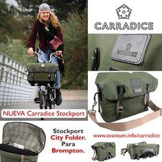 Nueva #carradice Stockport City Folder para las bicicletas plegables de Brompton. www.carradice.com.es