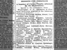 Article in the Indianapolis News 9 Dec 1895, Mon.