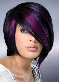 purple hair color ideas - Google Search