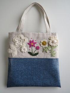 Patchwork Bags, Quilted Bag, Handmade Handbags, Handmade Bags, Diy Bag Designs, Embroidery Purse, Striped Shoulder Bags, Reusable Shopping Bags, Jute Bags