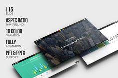 Kotabaru Powerpoint Template by izzatunnisa on Creative Market