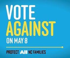 Vote against Amendment One!