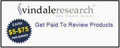Vindale Research is looking for qualified survey panelists to evaluate products & services, take simple online surveys, and enjoy compensation for their efforts. Sign up now and start getting paid!