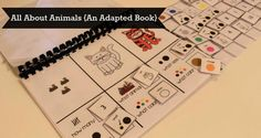 Challenge your students beyond memorization with our All About Animals Adapted Book found at theautismhelper.com.