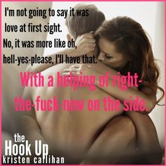 The hookup by kristen callihan read online pity, that