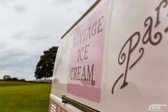 Vintage ice cream van hire - available for weddings - corporate & festivals...... http://www.pollys-parlour.co.uk