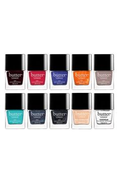 Butter London set - all the best colors. #musthave