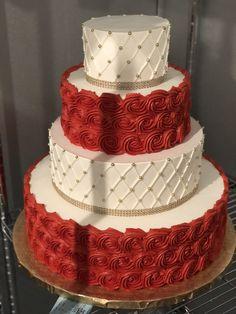 Wedding Cakes Simple Elegant White Classy Fondant Ideas - Page 2 of 31 - Wedding Dream Luxury Wedding Cake, Diy Wedding Cake, Fondant Wedding Cakes, Black Wedding Cakes, Elegant Wedding Cakes, Elegant Cakes, Beautiful Wedding Cakes, Beautiful Cakes, Wedding Ideas