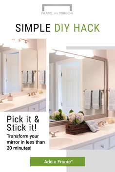 Think about this method for something totally different! Easy Home Renovations Home Renovation, Home Remodeling, Diy Home Improvement, Bath Remodel, Home Staging, Decoration, Diys, New Homes, Beautiful
