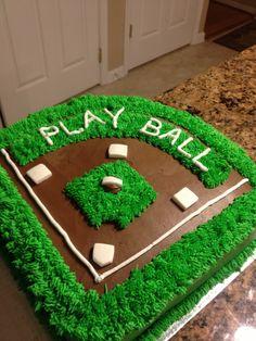 Opening Day of Baseball - Cake