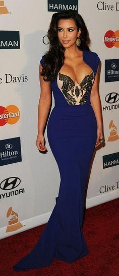 Kim Kardashian in Antonio Berardi