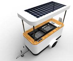Solar Powered Icecream Cooling & Vending
