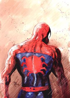 westcoastavengers:  Spider-Man by Mike Deodato Jr.