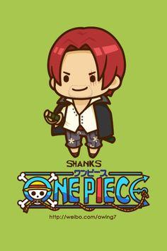 Shanks - One Piece One Piece Cartoon, One Piece Anime, One Piece World, One Piece 1, Zoro, One Piece English Sub, Good Anime To Watch, Es Der Clown, The Pirate King