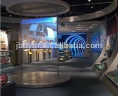 Transparent Holographic Rear Projection Film