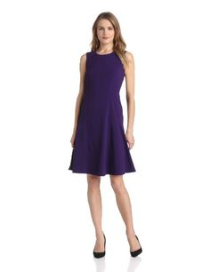 Anne Klein Women's Double Weave Fit and Flare Dress, Concord, 10 Anne Klein,http://www.amazon.com/dp/B00E0WSSNA/ref=cm_sw_r_pi_dp_uLAntb1YP264BQSB