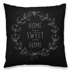 Almofada Black Home