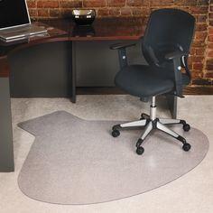 ES Robbins 66 x 60 EverLife Chair Mats For Medium Pile Carpet - ESR122775