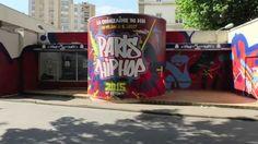 L'affiche du festival graffée par Marko93