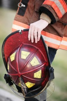 Ashlyn Joy Photography  Fire Fighter Engagement--- loving this <3