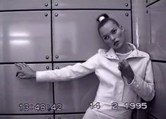 """""""The More Visible They Make Me, The More Invisible I Become."""" photographer Nick Knight has released a new film on SHOWstudio using footage of Kate Moss from 1995."""