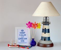 Keep Calm and Dream On - Cross Stitch Pattern