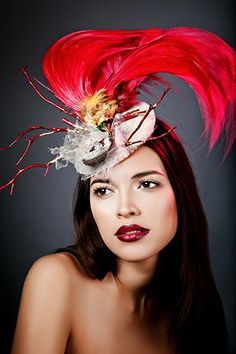Collections - Sanctum - Anya Caliendo - Couture Millinery Atelier