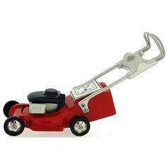 Miniature Lawn Mower Novelty Red Black & Silver Ornamental Collectors Clock 0126 Red Black, Black Silver, Lawn Mower, Miniatures, Clock, Watches, Lawn Edger, Watch, Grass Cutter