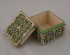 What's in the laser cut box