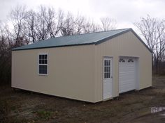 "Building of the Week 4/4/13 - 20' W x 20' L x 8' 4"" H Thinking about getting a pole building, but don't think you can afford it? Well, check out our latest Building of the Week! This little beauty is functional and affordable! Call Pioneer's sales team at 888-448-2505 x136 to get started on your new building today!    Building Location: New Ringgold, PA  Building ID Number: 296    Building Specs:  Dimensions: 20' W x 20' L x 8' 4"" H  Siding Color: Beige  Roofing Color: Ivy  Trim Color: Beige"