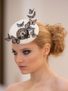 Fashion Mavericks: Sally-Ann Provan • Millinery at it's finest