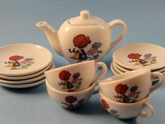 I didn't have this pattern, but I had one of these and I LOVED it!