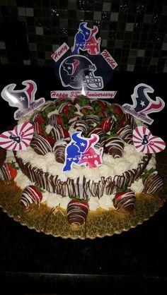 Houston  Texan cake