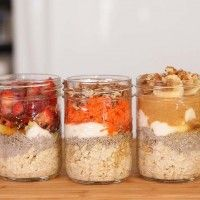"Delicious and Decadent ""Overnight Oatmeal"""