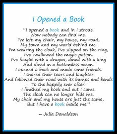 I feel this, every time! I escaped into a book! Im no longer on my chair!