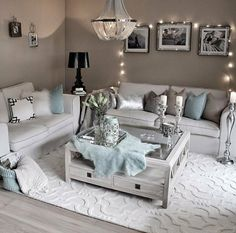 cozy living room decor ideas to copy 22 Cozy Apartment Decor, Living Room Decor Cozy, Living Room Grey, Home Living Room, Apartment Living, Interior Design Living Room, Living Room Designs, Interior Livingroom, Kitchen Interior