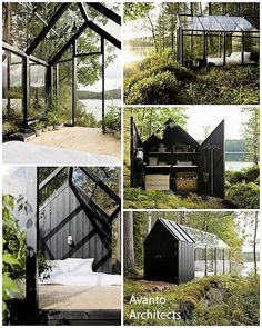 This one is a garden shed from Avanto Architects. Quite beautiful if I do say so myself ... which I just did...?