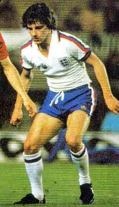 Steve Coppell of England in Football Shirts, Football Team, Steve Coppell, England Kit, Manchester United Football, England Football, Club, Soccer, Blue And White