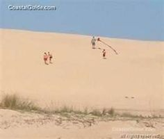 jockey's ridge outer banks NC - don't take off your shoes...sand gets hot. ;0