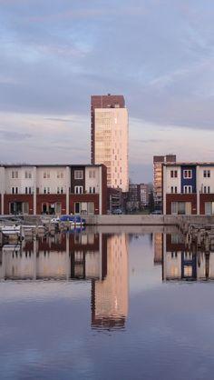 Reitdiephaven, Groningen. The Netherlands.
