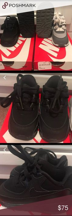 info for 3d849 88aa7 Toddler Air Max 90 Worn Once in Excellent Condition Comes with original box  MSRP  50 ea Willing to sell separately Nike Shoes Sneakers