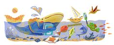 First Day of School 2017 (France Poland)  Date: September 4 2017  Today is the first day of school in many countries. And the school of fish in our Doodle is ready to dive into the brainy brine! A whale swims toward the classroom textbooks in fin. A starfish crams in the remainder of its summer reading and a turtle and friends embark on their first science project.  Here's hoping our seagoing scholars inspire you to have a great school year!  Location: France Poland  Tags:
