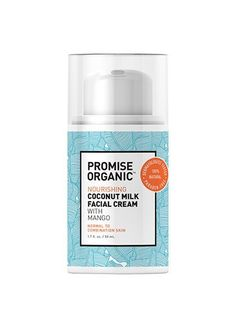 Promise Organic Nourishing Coconut Milk Facial Cream   allure.com