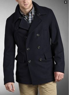 Ben Sherman Classic Pea Coat. I've found the sleeves in Ben Sherman outerwear to have a smaller diameter than others, meaning layers have to be on the thinner side. However, great lining, nice detailing, and classic presentation combine with an affordable price point- adding up to a competitive value.