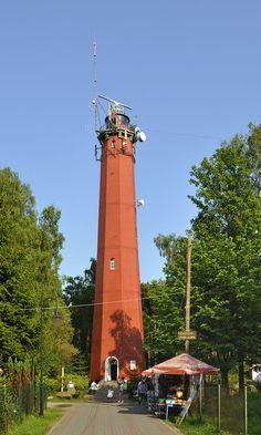 Lighthouse of Hel - Hel (miasto) – Wikipedia, wolna encyklopedia wys 41,5 m