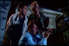 Bruce Dern,Tom Hanks, and Rick Ducommun in The Burbs 1989 Funny Comedy, Funny Movies, Love Movie, Movie Tv, Tom Hanks Movies, Corey Feldman, Great Comedies, The 'burbs