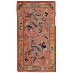Antique and Modern Chinese and East Asian Rugs and Carpets - For Sale at Tibetan Dragon, Asian Rugs, Tibetan Rugs, Floor Design, Rugs On Carpet, Chinese Rugs, Kilims, Antiques, Gallery