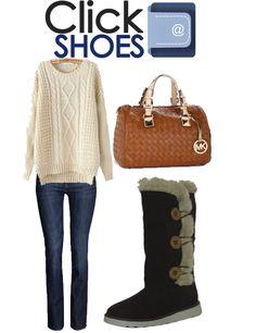 sweater XL invierno 2013...botas modelo: W1801 encuentralas en clickshoes.com.mx