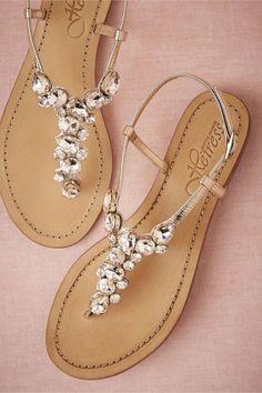 6558a376dd886 25 Dainty Accessories You ll Love for Summer ... Rhinestone Sandals ...
