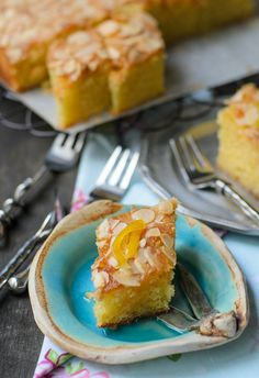 Belinda Jeffreys's Almond and Lemon Syrup Cake